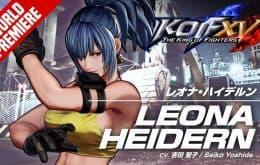 'The King of Fighters XV': Leona Heidern é destaque em novo trailer