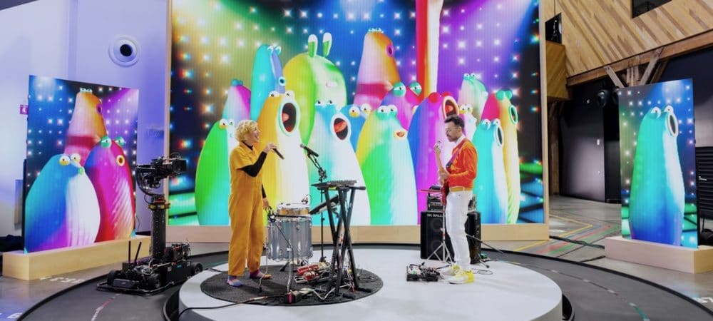 músicos google io