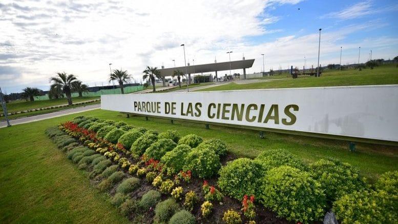Imagem mostra o Parque de Las Ciencias, a casa do Google para um novo centro de dados no Uruguai