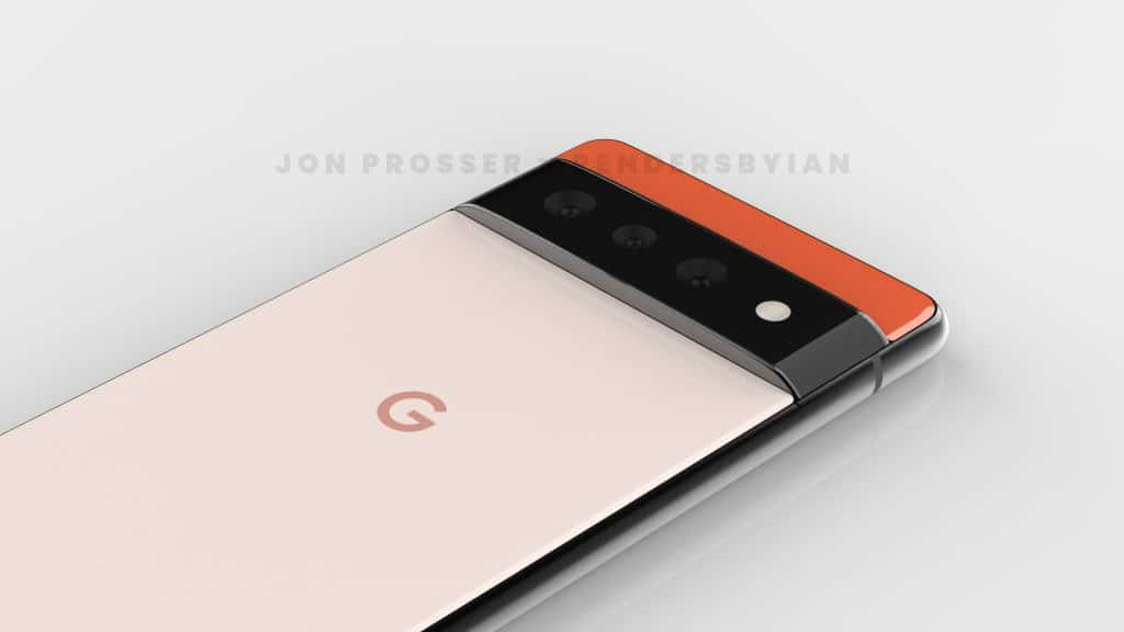 Imagem conceitual do Pixel 6 Pro, que supostamente apresenta três câmeras e visual diferente dos smartphones que o antecedem