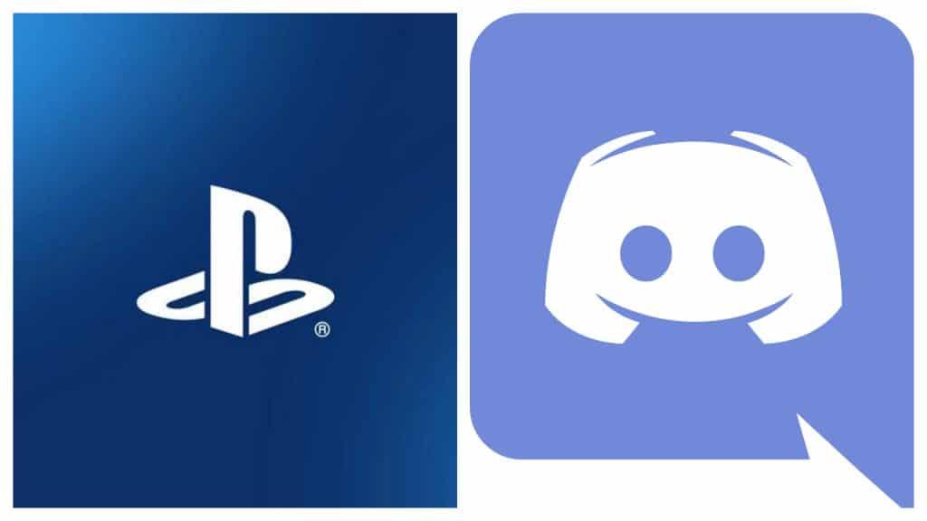 Sony anunciou parceria que pode levar o Discord a ser integrado ao PlayStation, embora detalhes desse trabalho ainda sejam segredo.  Na imagem: montagem coloca lado a lado as logomarcas de PlayStation e Discord