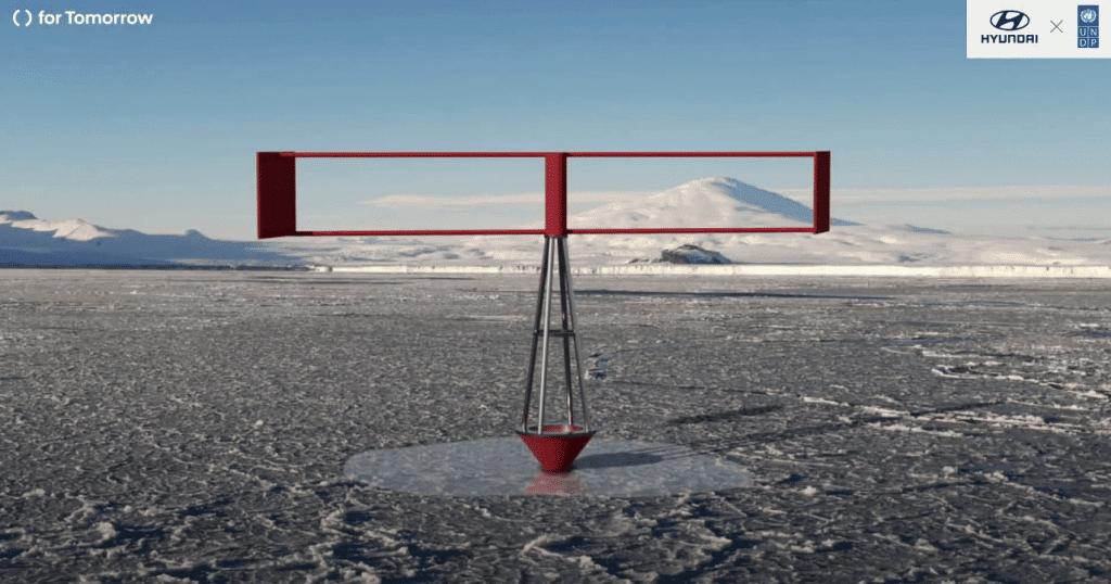 Print mostra a máquina que pode refazer geleiras no Polo Norte