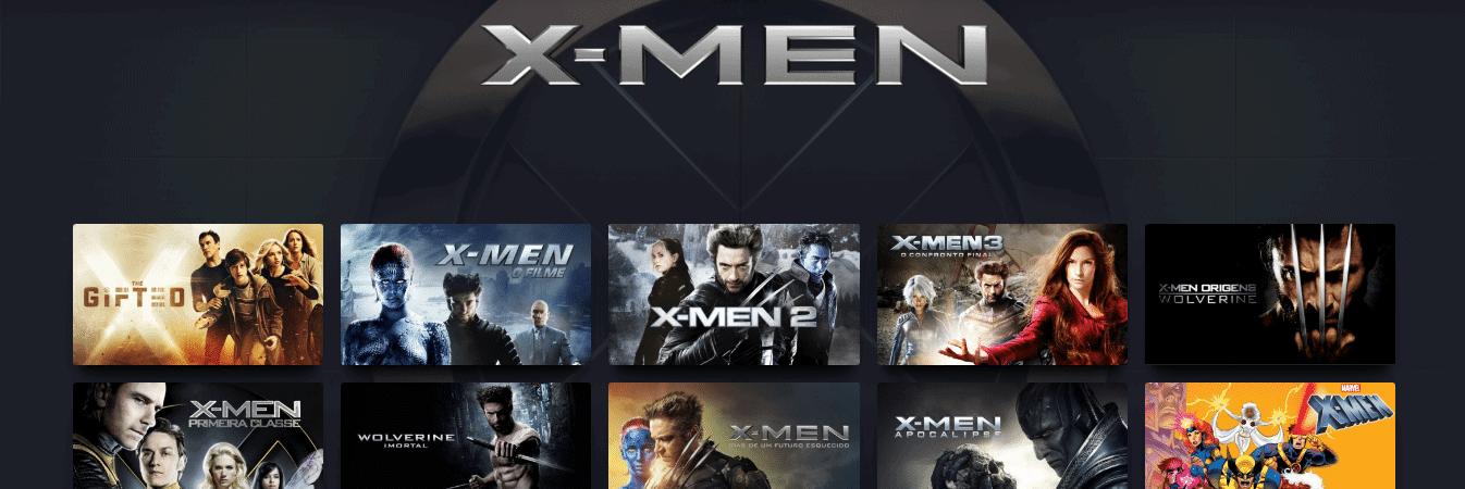 X-Men: filmes e animação clássica dos anos 90 chegam ao Disney+. Imagem: Reprodução/Disney+