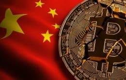 China proíbe uso de criptomoedas em instituições financeiras do país; bitcoins e moedas digitais despencam