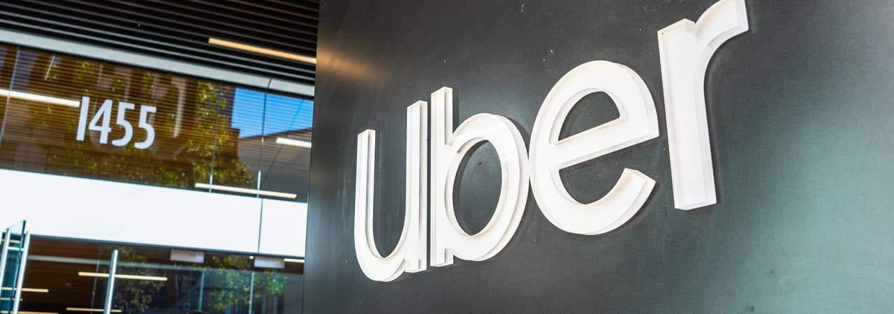 Fachada da empresa Uber