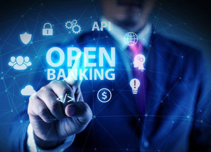 Ilustración de banca abierta