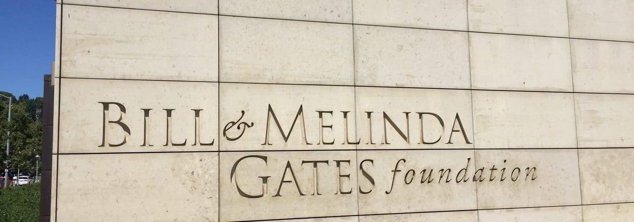Fachada da Fundação criada por Bill Gates e Melinda French