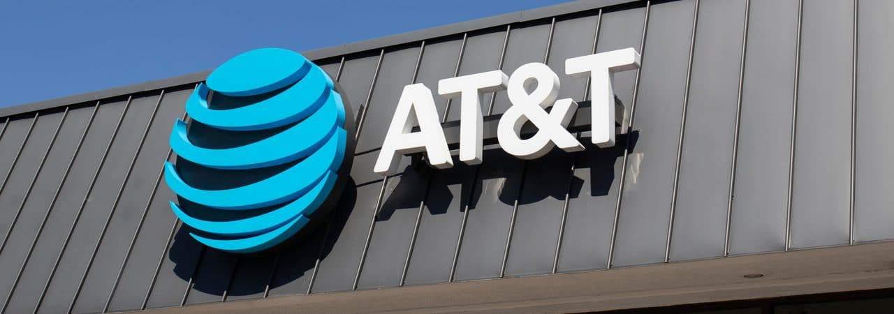 Fachada da empresa AT&T