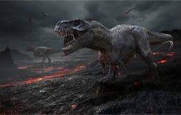 Força da mordida de um tiranossauro vinha de uma articulação específica na mandíbula