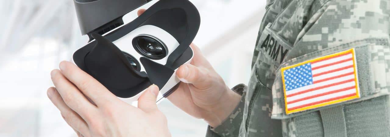 Realidade virtual nas forças militares dos Estados Unidos