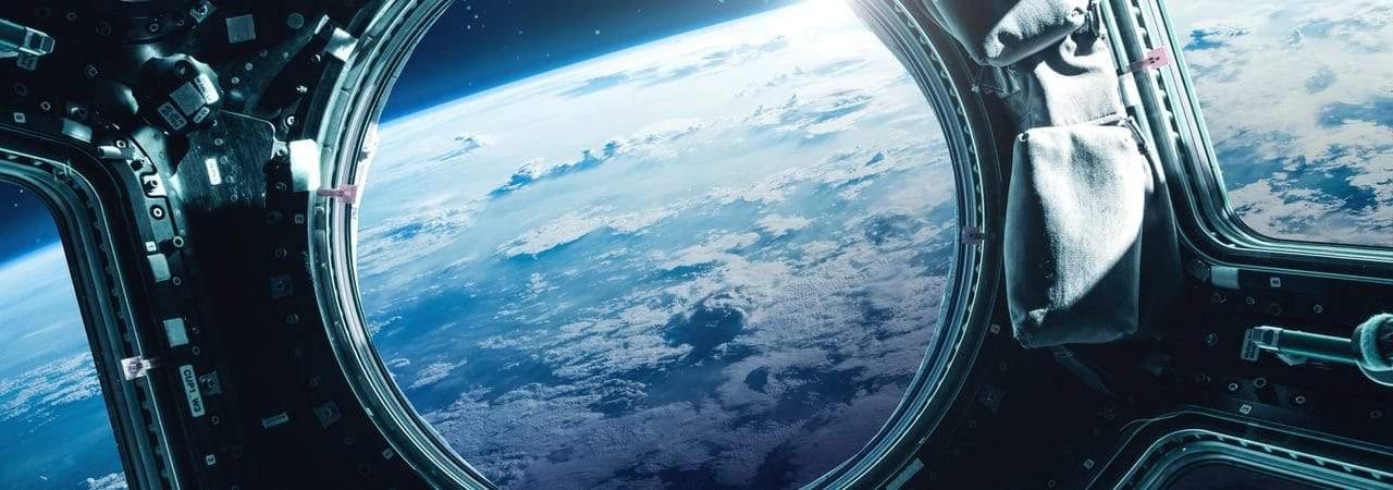Vista da Terra sob a ótica da Estação Espacial Internacional