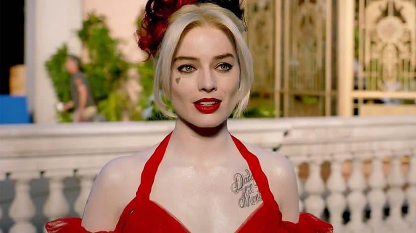 Margot Robbie é a Dra. Harleen Quinzel / Arlequina em 'O Esquadrão Suicida' (2021). Imagem: Warner Bros. Pictures/Divulgação