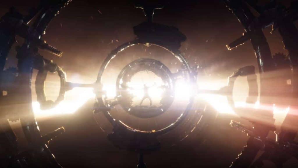 Thor constrói Rompe Tormentas em 'Guerra Infinita'. Imagem: Marvel Studios/Divulgação