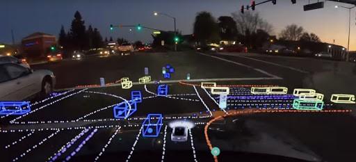 Tesla diz a regulador que carros totalmente autônomos podem não estar prontos até o final do ano. Imagem: Reprodução/Youtube