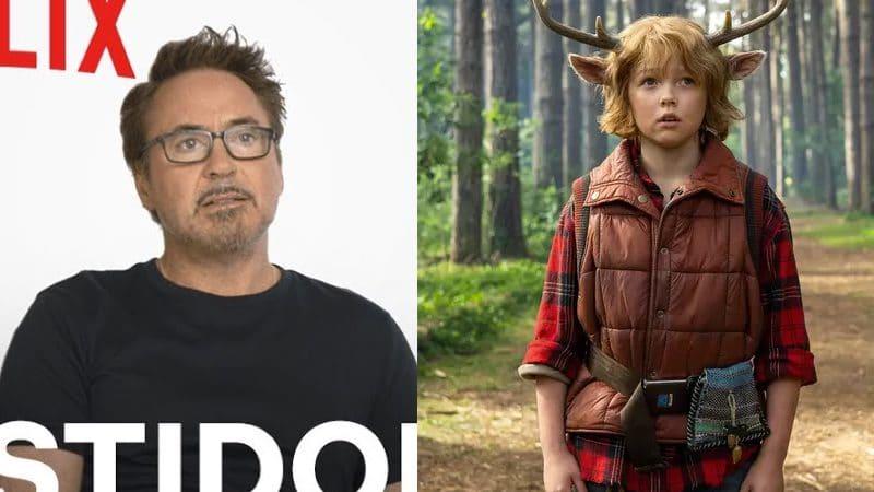 Robert Downey Jr. e outros membros da produção falam de 'Sweet Tooth' em vídeo de bastidores da série da DC Comics. Imagem: Netflix/Divulgação