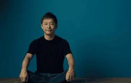 Bilionário japonês Yusaku Maezawa quer ideias sobre o que fazer na viagem rumo à ISS
