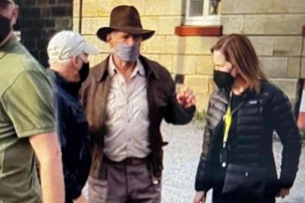 Indiana Jones 5: Harrison Ford machuca ombro ensaiando cena de luta. Imagem: Instagram/Reprodução