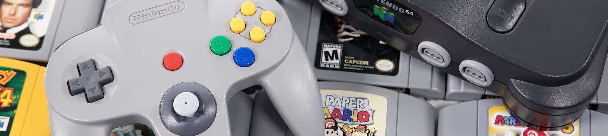 Nintendo 64 faz 25 anos: relembre sucesso do console e dos seus jogos. Imagem: robtek / Shutterstock.com