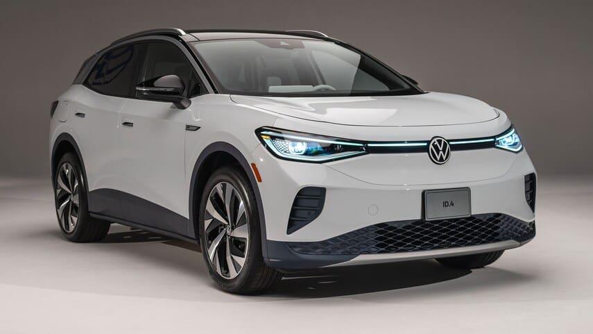 Volkswagen ID.4 Pro AWD é uma versão do modelo com maior autonomia. Imagem: Divulgação