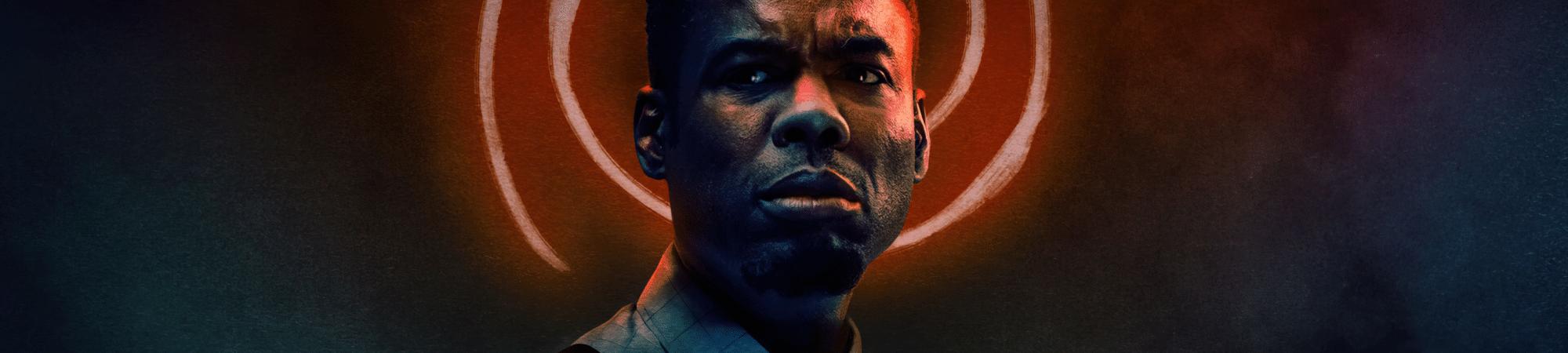 Chris Rock é o protagonista de 'Espiral - O Legado de Jogos Mortais'. Imagem: Lionsgate/Divulgação
