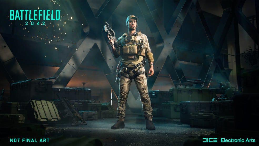 Battlefield 2042 é anunciado pela EA e chega em 22 de outubro. Imagem: Divulgação/Eletronic Arts