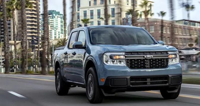 Ford lança picape Maverick nos EUA com motor híbrido de série. Imagem: Divulgação