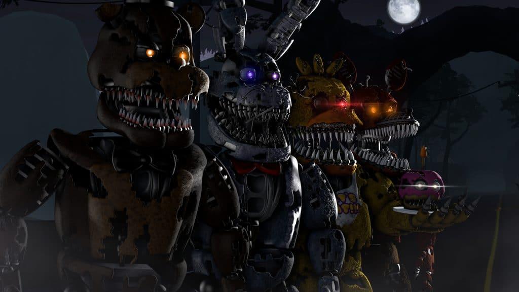 Five Nights At Freddy's. Imagem: Steel Wool Studios/Divulgação