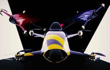 Airspeeder Mk3, o primeiro carro de corrida voador do mundo, decola pela primeira vez