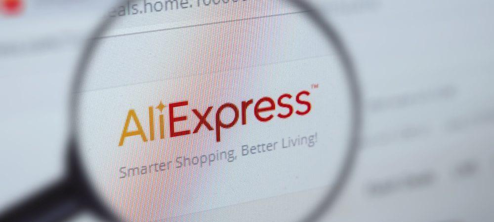 Logo do AliExpress