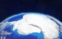 Evento raro de inverno faz lago desaparecer na Antártica