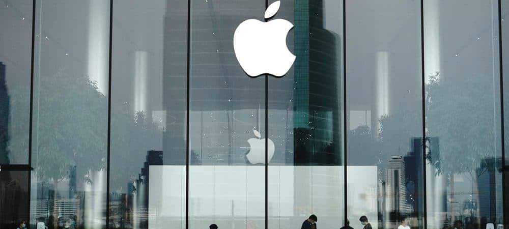 Fachada de uma loja da Apple