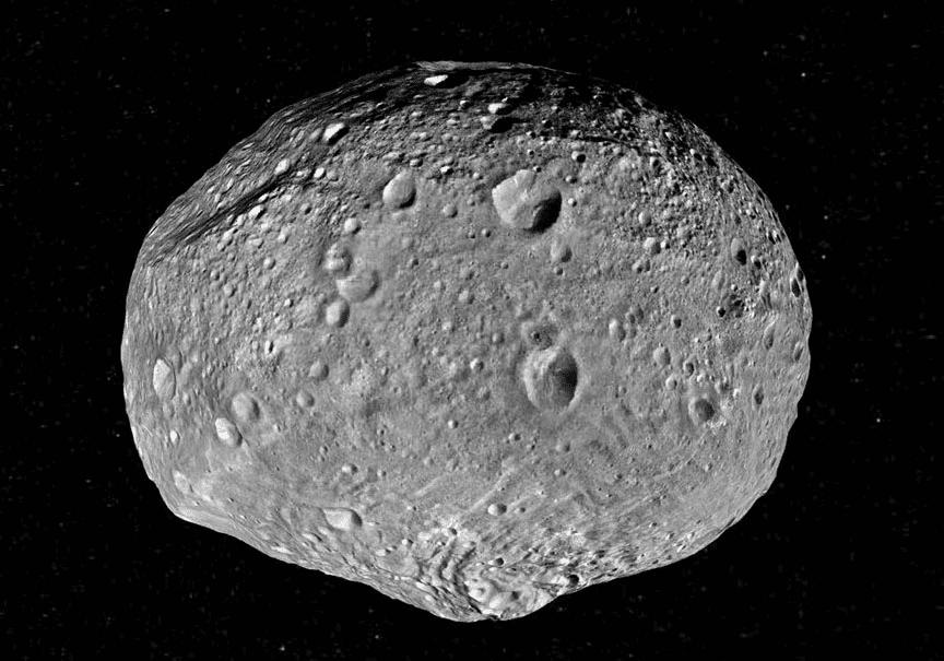 Imagem do Vesta, para ilustrar matéria sobre como a Nasa pretende lançar uma nave para se chocar contra um asteroide