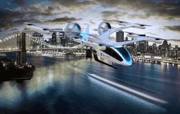 """Eve, da Embraer, fecha parceria com a Blade para disponibilizar """"carros voadores"""" nos EUA"""