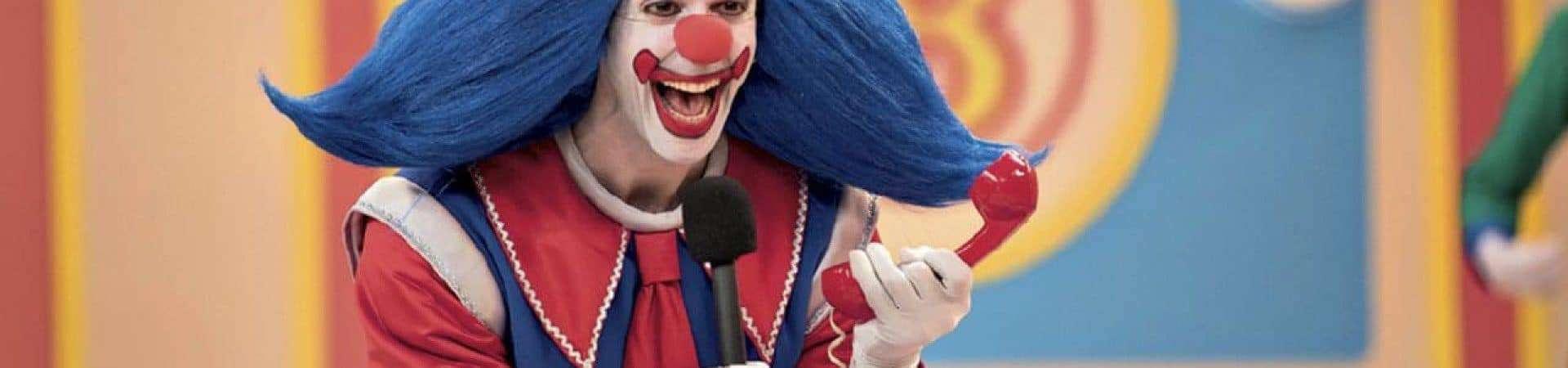 Vladimir Brichta presentó The Clown Bingo en un programa de entrevistas.