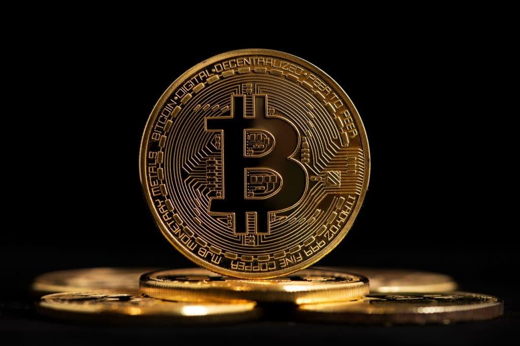 Ilustração de bitcoin