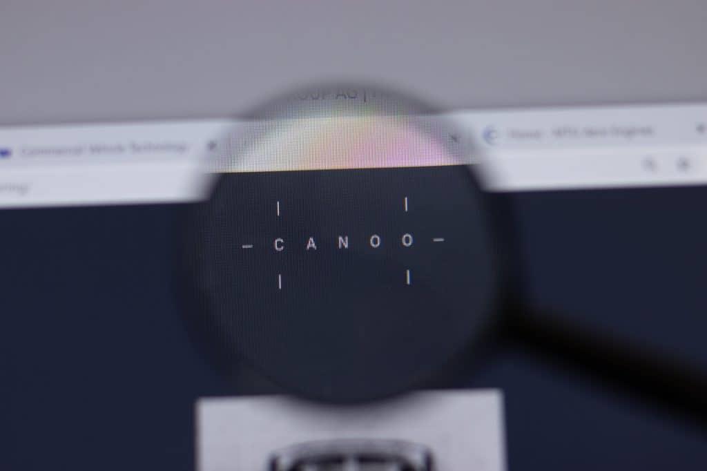 Logo da startup de veículos elétricos Canoo