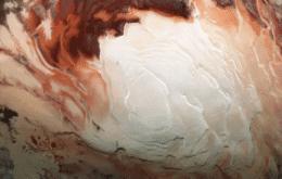 Marte pode ter vários lagos em seu polo sul, mas cientistas ainda não confirmam hipótese