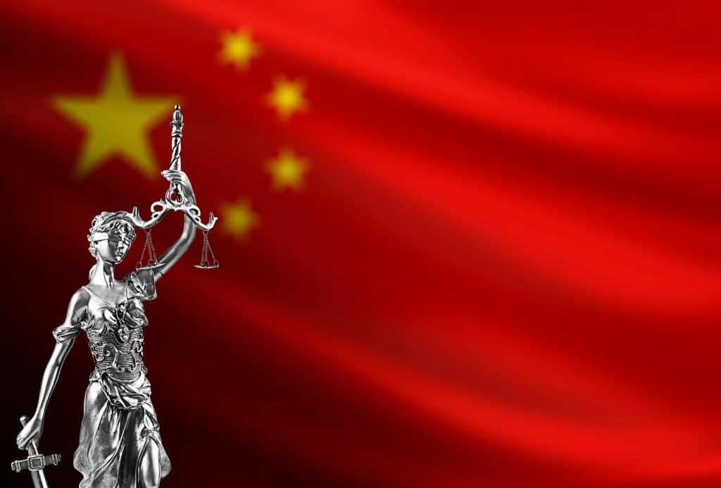 Representação de órgãos reguladores da China