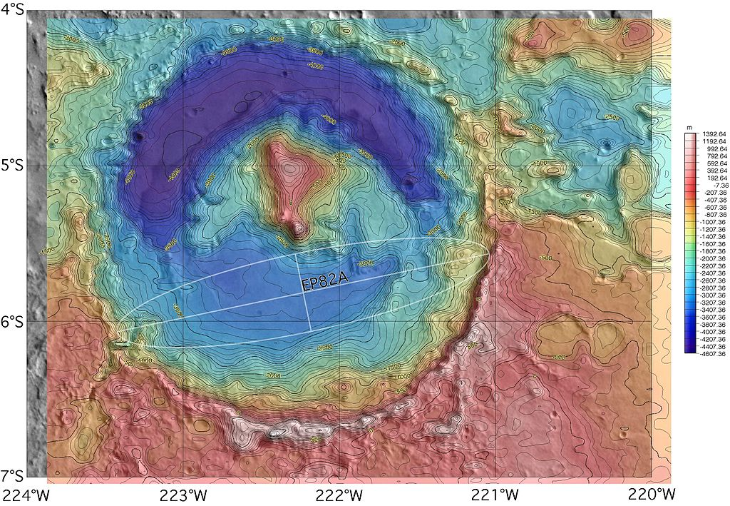 Cratera Gale