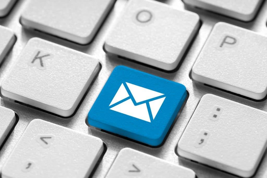 Ilustração de e-mail