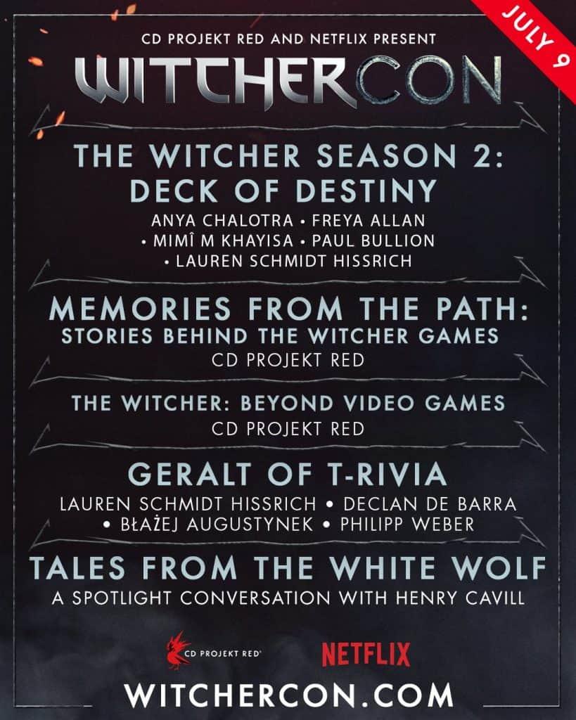 Confira a programação da WitcherCon, evento dedicado a 'The Witcher'. Imagem: Netflix/Divulgação