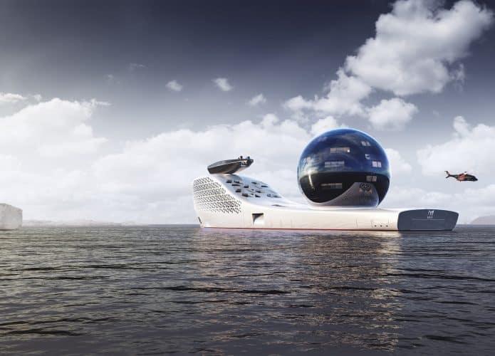 Projeto do navio Earth 300