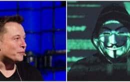 Anonymous faz ameaça velada a Elon Musk por conta de tuítes sobre criptomoedas