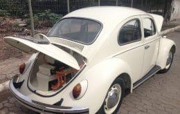 Ingeniero transforma el Beetle 72 en modelo eléctrico