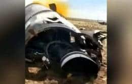 Vídeo mostra destroços que podem ser de foguete chinês