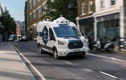 Sem motorista: Ford testa vans autônomas de entregas comerciais