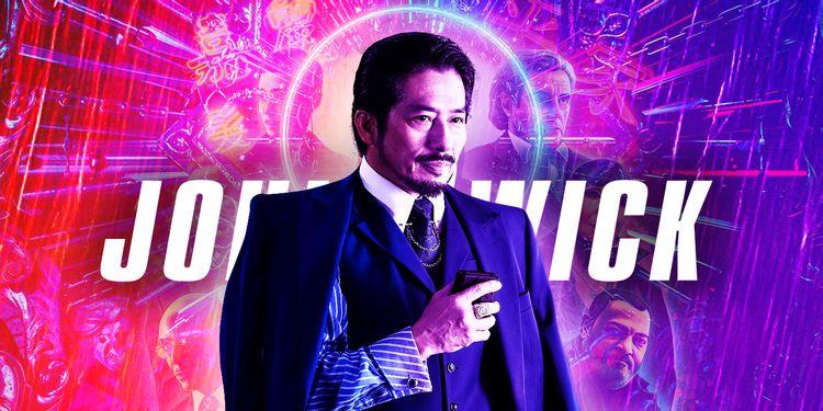 John Wick 4: Hiroyuki Sanada se junta ao elenco da sequência com Keanu Reeves. Imagem: Collider/Reprodução