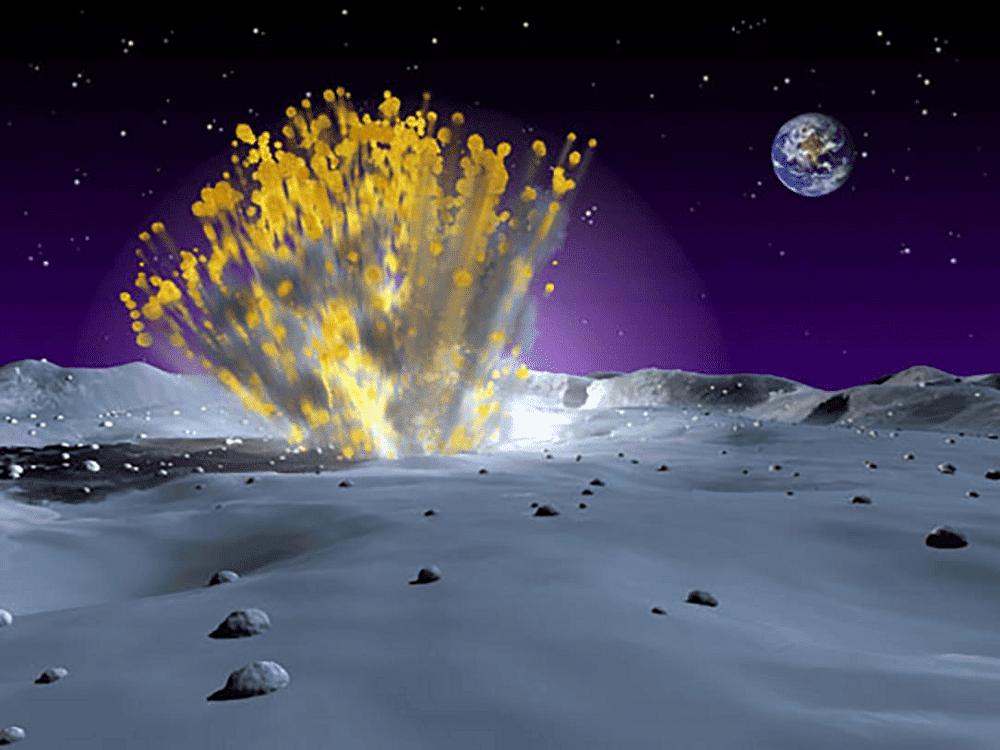 Impactos de meteoroides com a superfície Lunar podem provocar TLPs visíveis da Terra