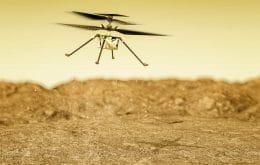 14º voo do Ingenuity em Marte deve enfrentar maior dificuldade