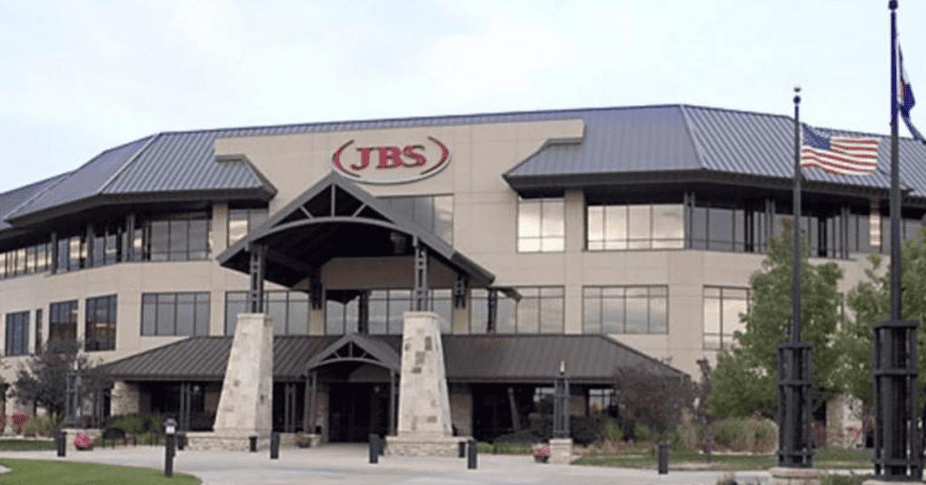 Imagem mostra fachada da filial americana da JBS